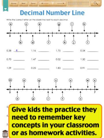 Decimal Worksheets Grade 4 - free decimal riddles worksheets 4 ...