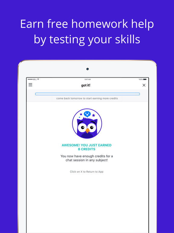 English homework help app