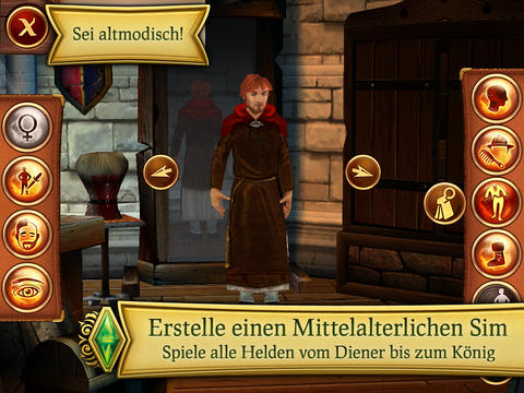 Die Sims™ Mittelalter For iPad iOS Screenshots