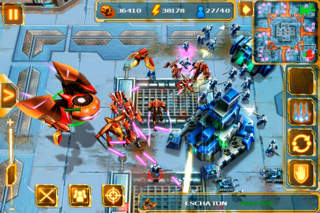 Starfront: Collision GRATIS iOS Screenshots