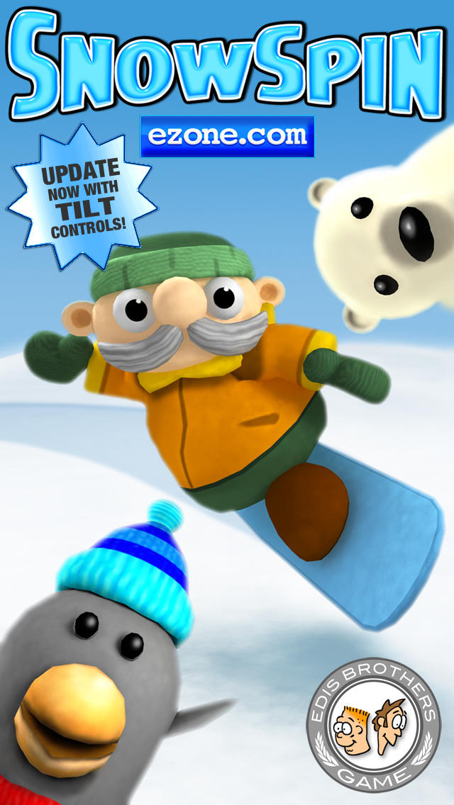 Snow Spin - Snowboarding Adventure! iOS Screenshots