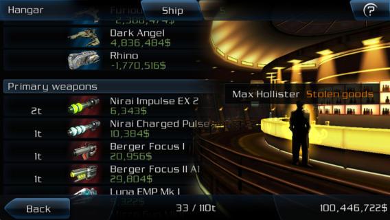 Screenshot 3 Galaxy on Fire 2™