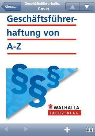 Geschäftsführerhaftung von A-Z
