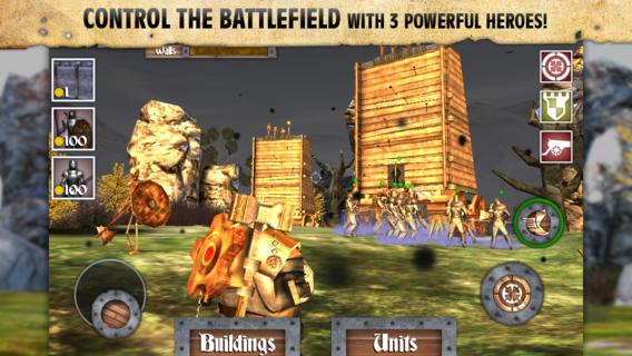 Screenshot 4 Heroes and Castles