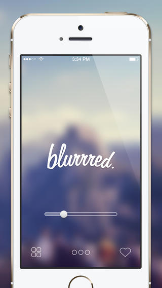blurrred. - Blur Your Wallpapers For iOS7 Screenshot