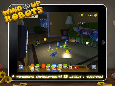 Screenshot 3 Wind Up Robots