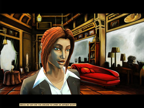 Cognition Episode 1 iOS Screenshots
