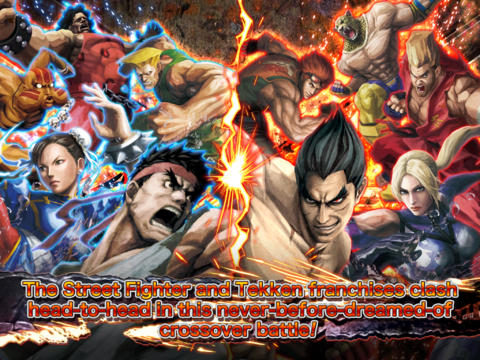 STREET FIGHTER X TEKKEN MOBILE? iOS Screenshots