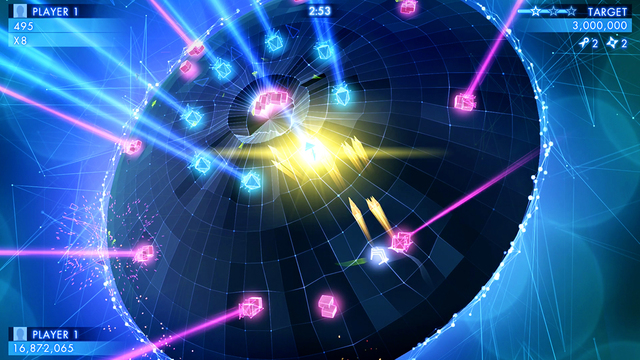 Geometry Wars 3: Dimensions iPhone iPad