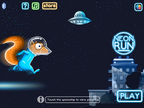 Neon Run! iOS Screenshots