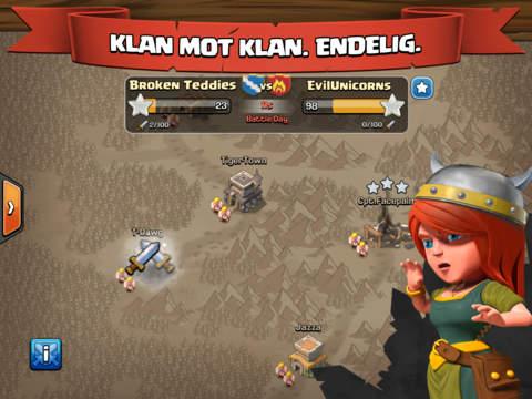Clash of Clans iPad app afbeelding 3