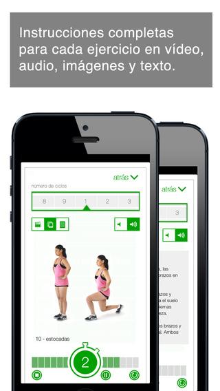 7 Min Workout - Tabla de 7 Minutos Screenshot