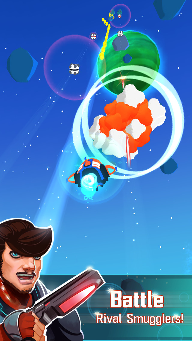 Galaxy Dash: Race to the Outer Run iOS Screenshots