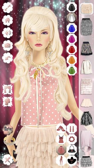 Maquillage, Coiffure, Habits & Mode Princesse 2 Dans L'App