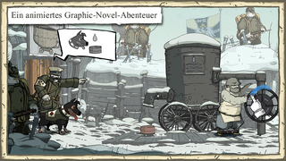 Valiant Hearts: The Great War iPhone, iPad Screenshot