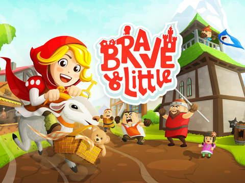 Brave & Little Abenteuer iOS Screenshots