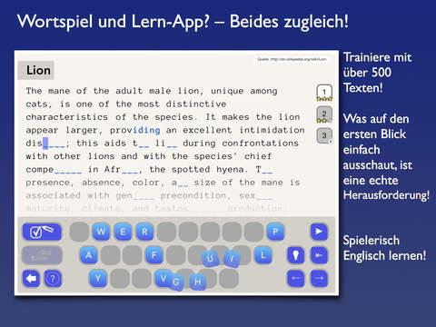 Mind the Gap – Spielend Englisch lernen! Screenshot