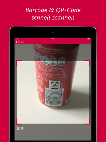 barcoo Barcode Scanner & QR Reader Screenshots