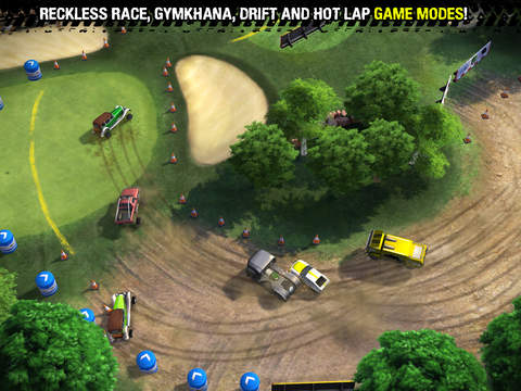 Reckless Racing 3 iOS Screenshots