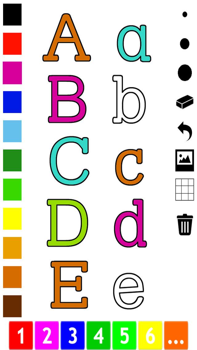 download Abc Livre à colorier : Apprendre à écrire l'alphabet en anglais apps 2