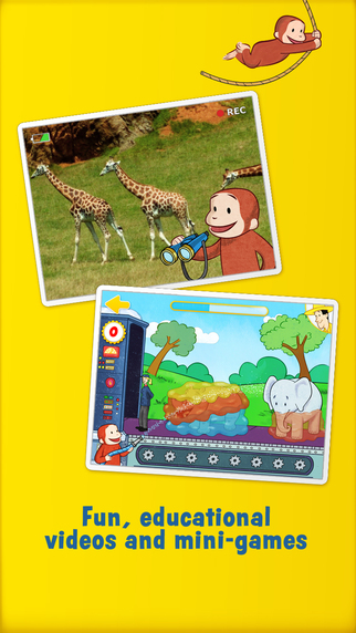 Curious george zoo animals sull app store