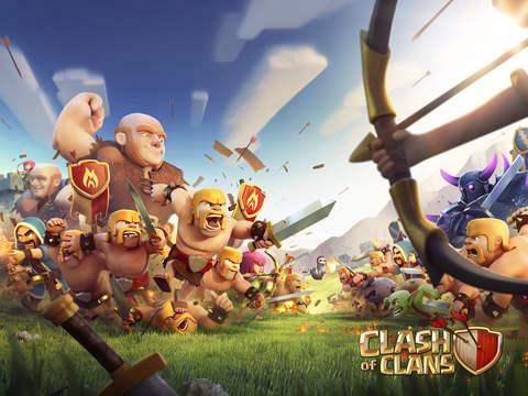 Clash of Clans iPad app afbeelding 1