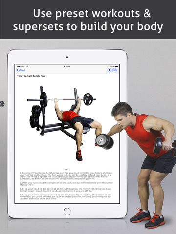 t l charger go fitness pro hd pour ipad sur l 39 app store sports. Black Bedroom Furniture Sets. Home Design Ideas