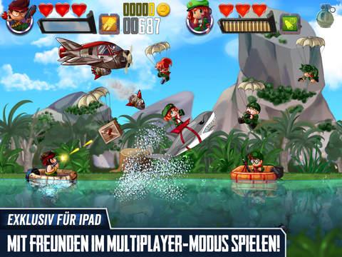 Ramboat: Spiel Schießen und Laufen iOS Screenshots