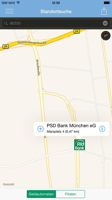 PSD Banking Screenshot