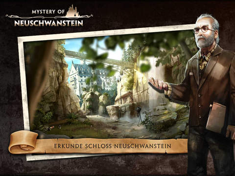 Mystery of Neuschwanstein iPad