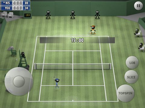 Stickman Tennis 2015 iOS Screenshots