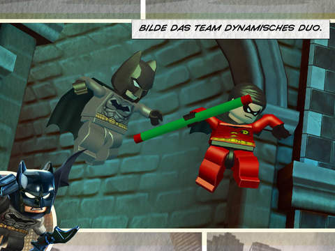 LEGO® Batman 3: Jenseits von Gotham iOS Screenshots