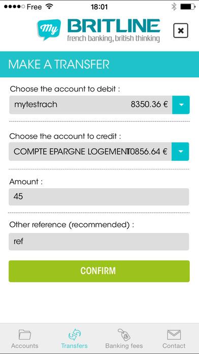 Credit Agricole Britline >> My Britline dans l'App Store