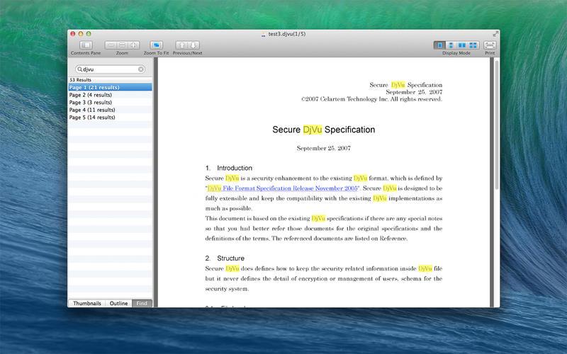 DjVu Reader FS Screenshots