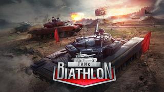 Tank Biathlon iOS Screenshots