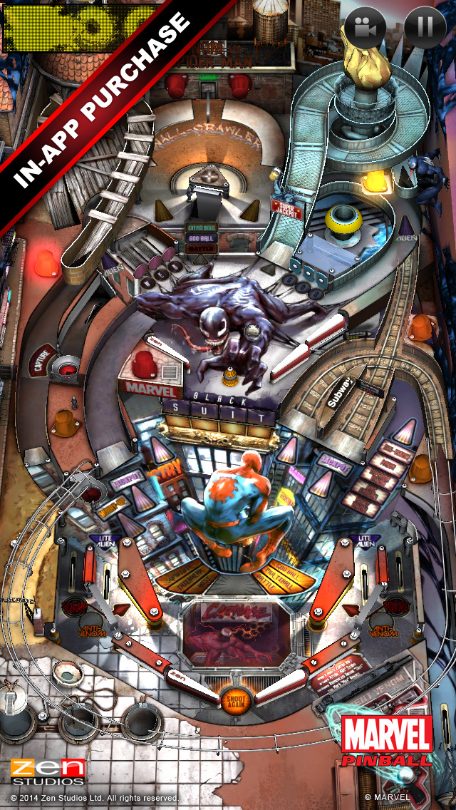 Screenshot 3 Marvel Pinball