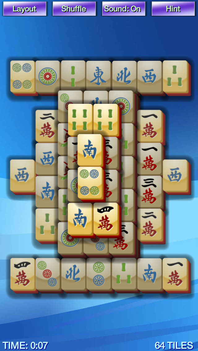 Mahjong+ iOS Screenshots