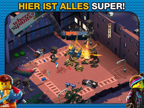 The LEGO® Movie Video Game iOS Screenshots