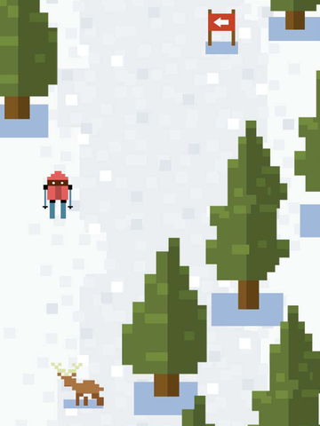 Ice Ski Challenge iPad
