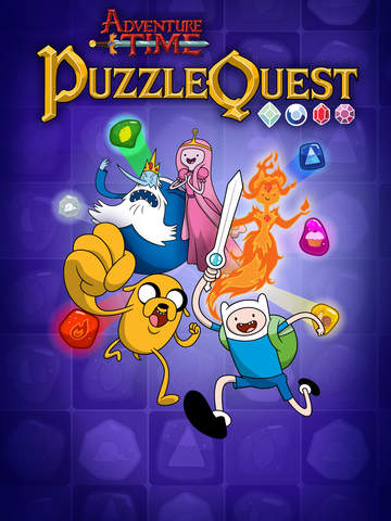Adventure Time Puzzle Quest - Match 3 RPG Game iOS Screenshots