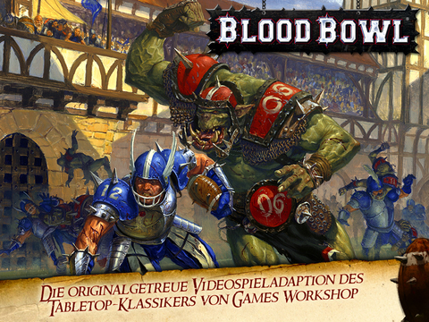Blood Bowl iPad
