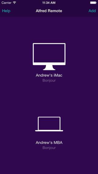 Alfred Remote Screenshot