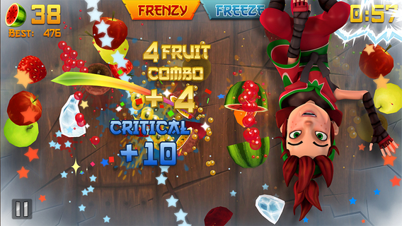 Screenshot 5 Fruit Ninja Classic