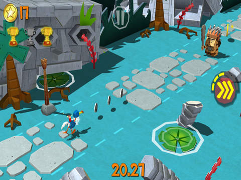 Screenshot 5 Cartoon Survivor - Jurassic Adventure Runner