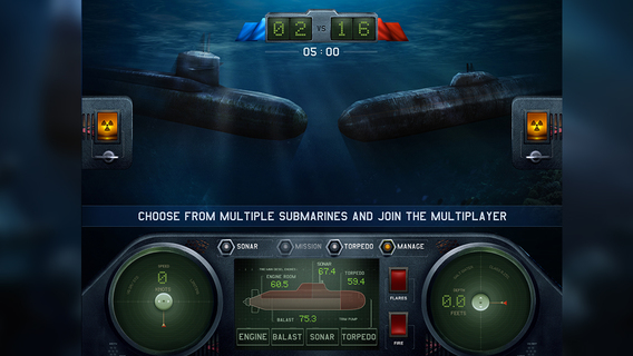 Dive for Honour: Cold War iPhone iPad
