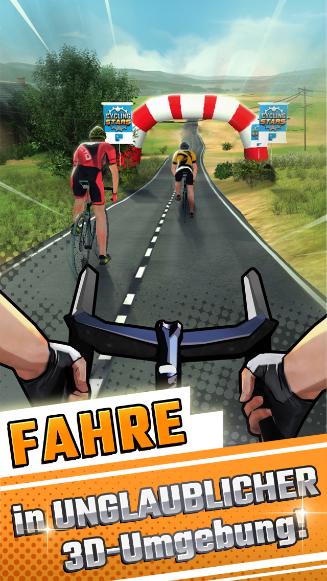 Cycling Stars - La Vuelta iOS Screenshots