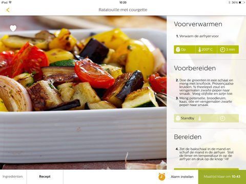 39 philips airfryer 39 voor iphone ipod touch en ipad in de app store op itunes - Ondersteuning fer smeden ...