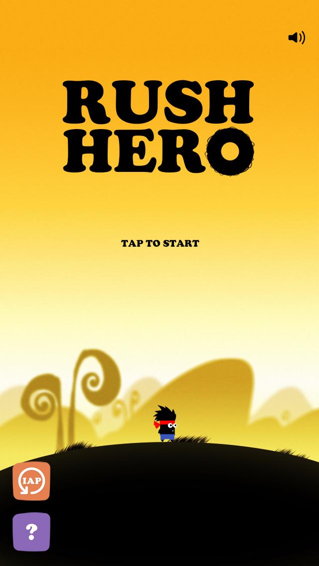 Rush Hero iOS Screenshots