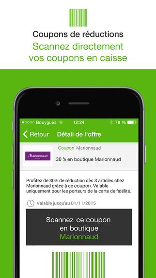 ma reduc coupon shopping code promo r duction pour iphone ipod touch et ipad dans l app. Black Bedroom Furniture Sets. Home Design Ideas