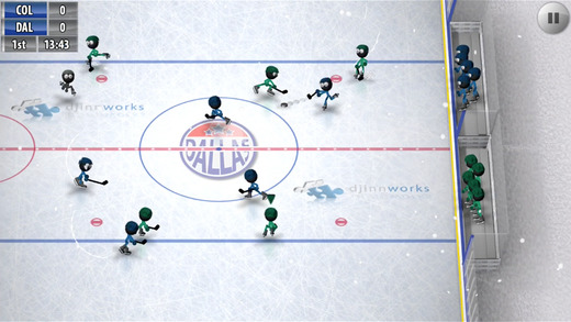 Stickman Ice Hockey iPhone iPad